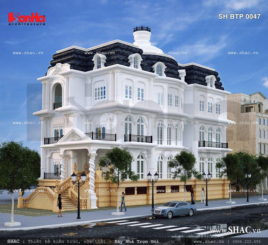 Các mẫu thiết kế biệt thự phố đẹp tại Hải Dương 4