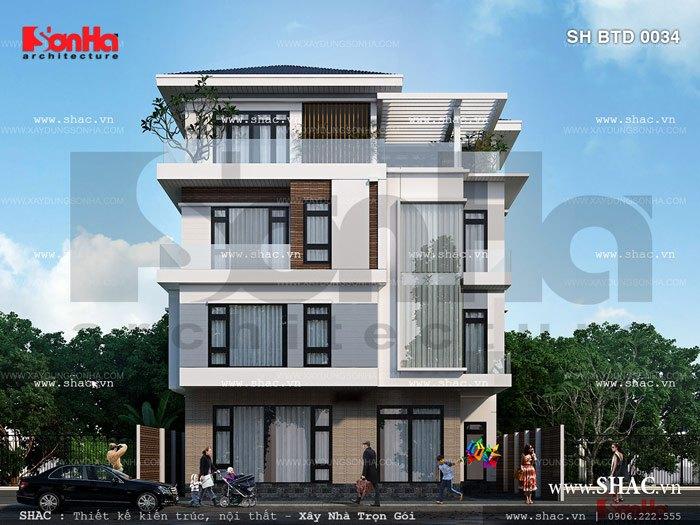 Nhà biệt thự hiện đại với thiết kế tinh tế và sang trọng 1
