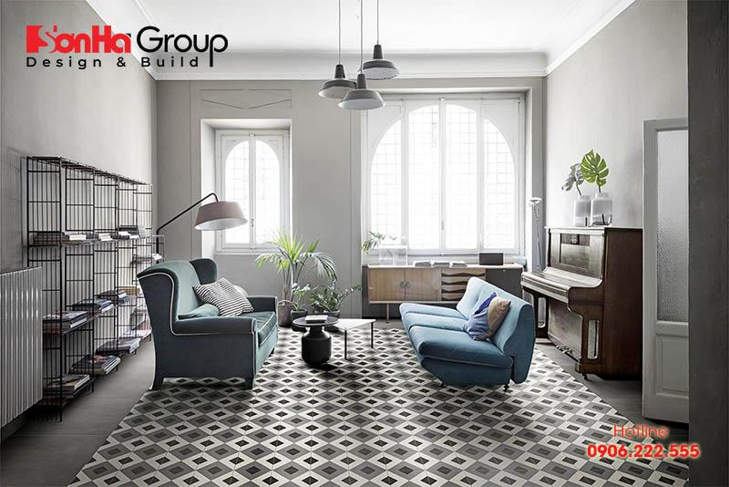 Trang trí phòng khách 20m2 với xu hướng nội thất hiện đại vạn người mê 7