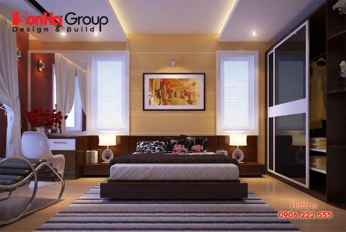Tổng hợp các cách trang trí phòng ngủ đơn giản ít tốn kém cho nhà phố hiện nay 4