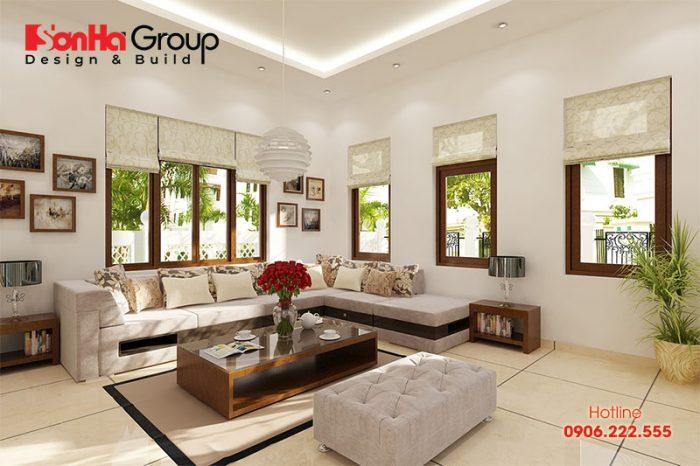 Trang trí phòng khách 20m2 với xu hướng nội thất hiện đại vạn người mê 4
