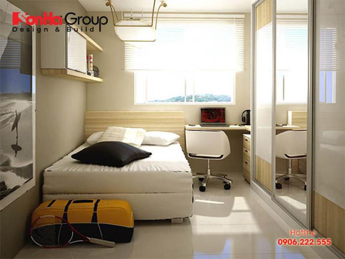 30+ Mẫu nội thất thông minh cho phòng ngủ nhỏ thêm đẹp và tiện nghi 3