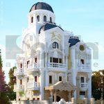 Kiến trúc biệt thự pháp 4 tầng trọn gói - BTLD 0003 18