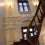 Biệt thự 4 tầng mái ngói kiến trúc Pháp cổ điển - BTP 0013 30