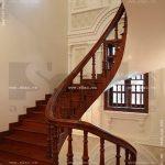 Biệt thự 4 tầng mái ngói kiến trúc Pháp cổ điển - BTP 0013 34