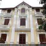 Biệt thự 4 tầng mái ngói kiến trúc Pháp cổ điển - BTP 0013 23