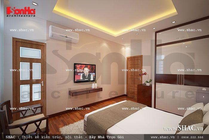 Hệ thống tivi, điều hòa, tủ lạnh, thiết bị báo cháy của khách sạn được lắp đặt đúng tiêu chuẩn