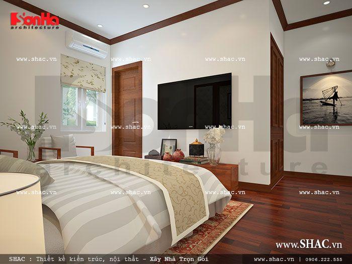 Phòng ngủ khách sạn cổ điển