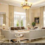 Phòng khách đẹp và sang trọng