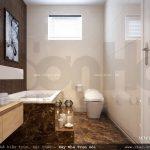 thiết kế phòng vệ sinh wc đẹp và hiện đại