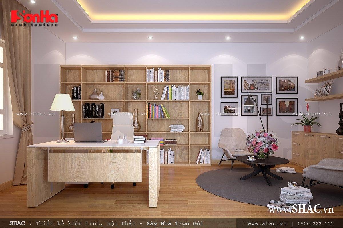 Thiết kế phòng đọc, thư phòng, phòng đọc sách tại nhà
