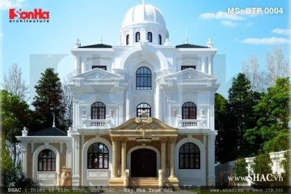 Biệt thự cổ điển 3 tầng kiến trúc Pháp - SH BTP 0004