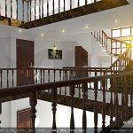 Hệ thống lan can cầu thang của biệt thự
