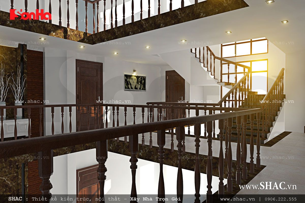 Biệt thự hiện đại 3 tầng tại Kiên Giang - BTD 0016 24
