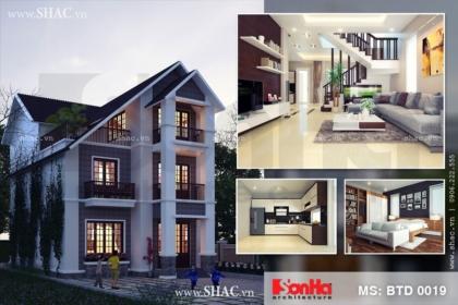 Hồ sơ thiết kế biệt thự 3 tầng hiện đại