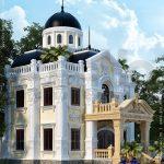 Kiến trúc biệt thự Pháp 2,5 tầng tại Bắc Ninh