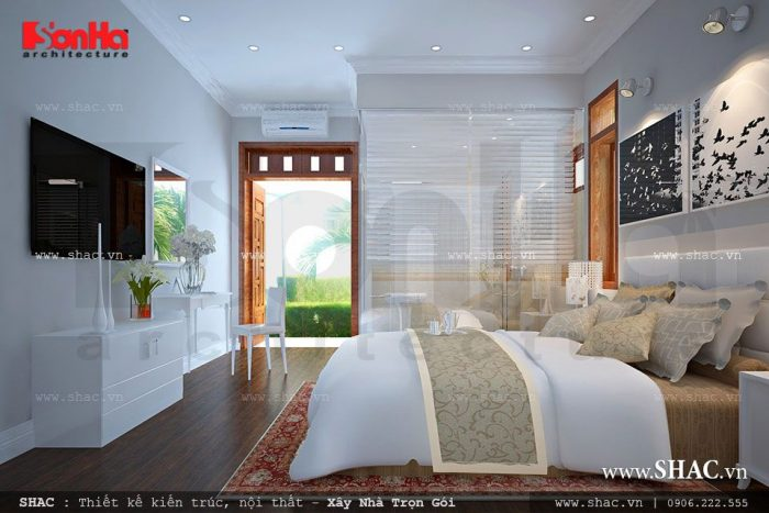 Nội thất phòng ngủ hiện đại với không gian hoàn hảo cho cuộc sống thêm phần trọn vẹn