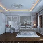Mẫu phòng ngủ kiểu Pháp