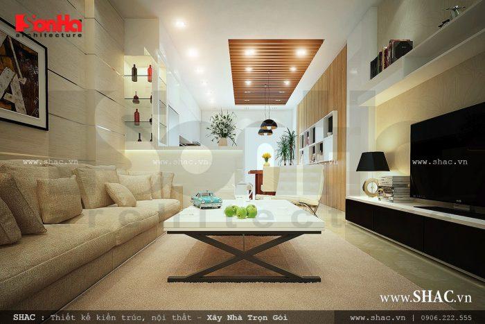 Thiết kế phòng sinh hoạt chung, nội thất phòng shc đẹp