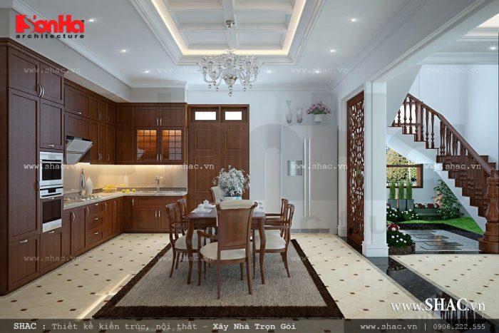 Nội thất phòng ăn đẹp và đơn giản
