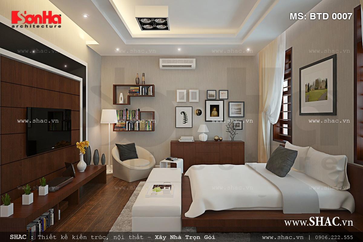 Biệt thự hiện đại 3 tầng tại Kiên Giang - BTD 0016 14