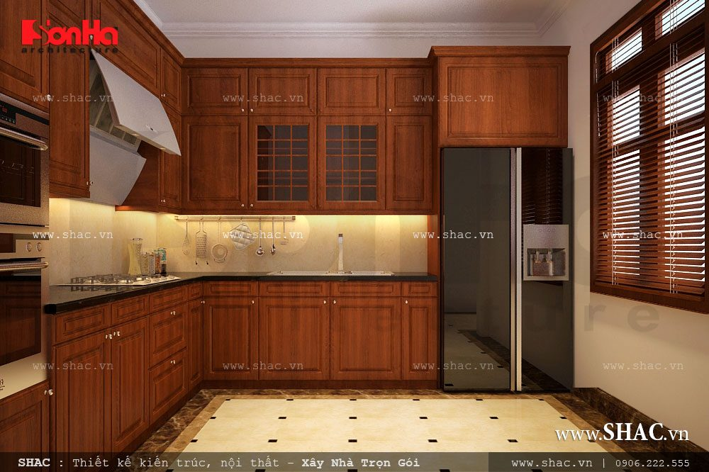 Nội thất tủ bếp gỗ