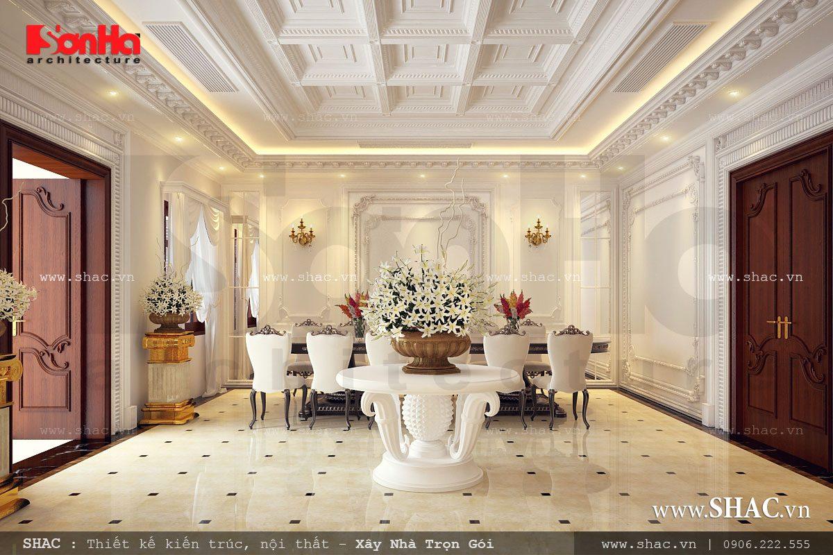 Biệt thự Pháp 4 tầng tại Hà Nam - BTP 0018 5