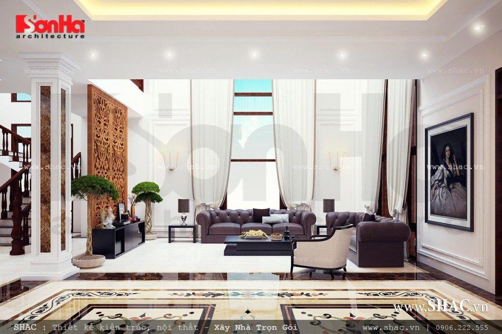 Phòng khách đẹp theo phong cách hiện đại