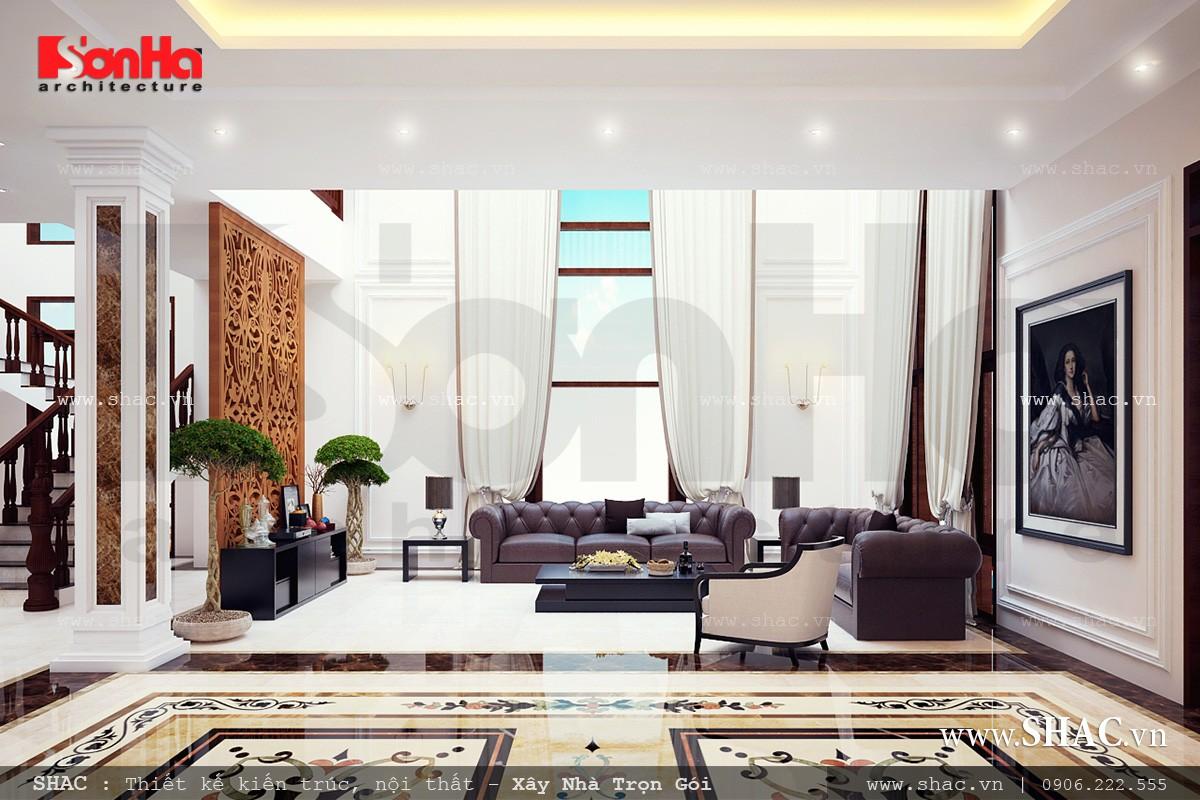 Biệt thự hiện đại 3 tầng tại Kiên Giang - BTD 0016 4