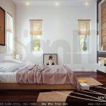Mẫu Phòng ngủ biệt thự nhẹ nhàng, phòng ngủ trẻ trung