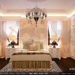 Phòng ngủ kiểu pháp nhẹ nhàng và quý phái