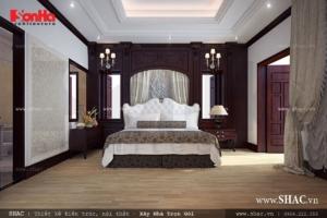 Phòng ngủ đẹp cho biệt thự