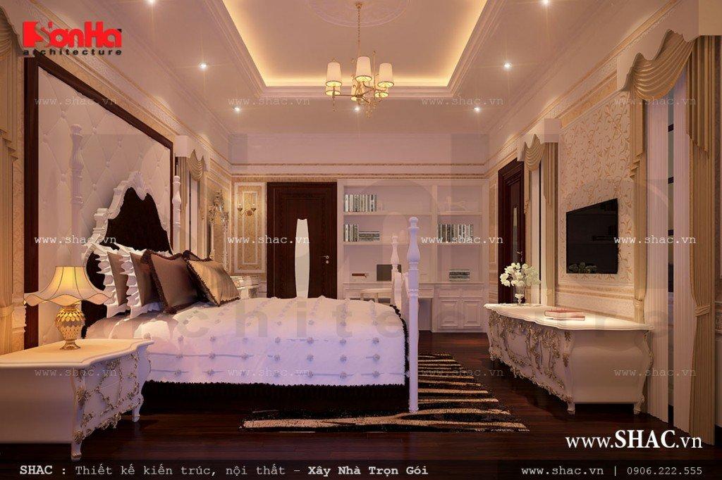 Phòng ngủ đẹp của biệt thự