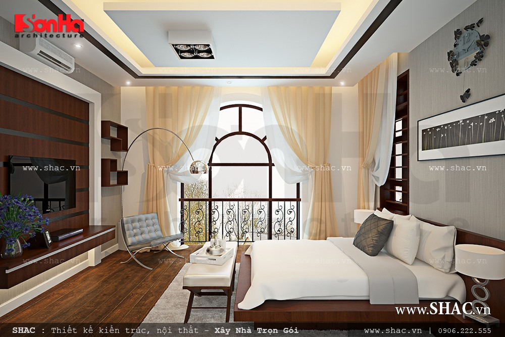 Biệt thự hiện đại 3 tầng tại Kiên Giang - BTD 0016 9