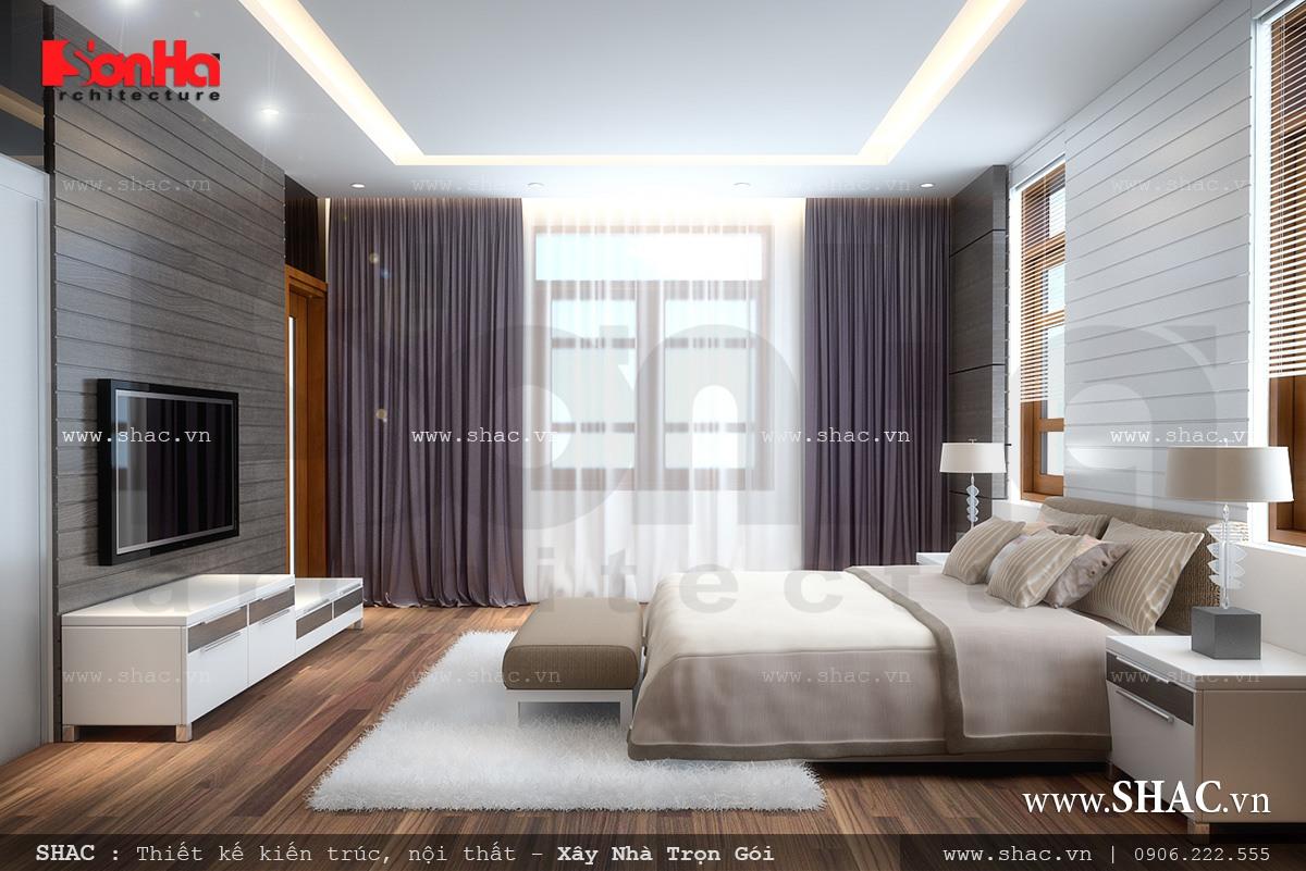 Biệt thự hiện đại 3 tầng tại Kiên Giang - BTD 0016 11