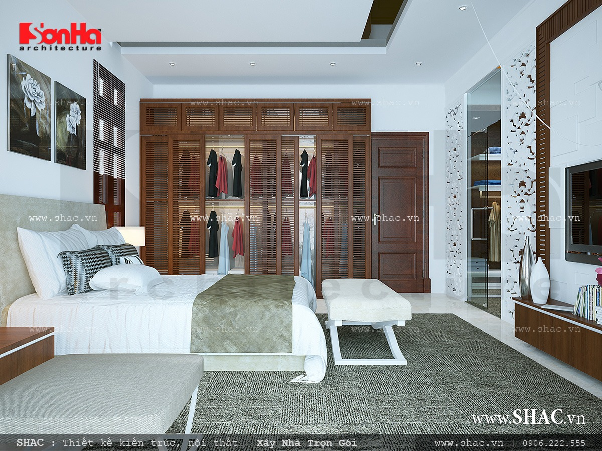 Biệt thự hiện đại 3 tầng tại Kiên Giang - BTD 0016 12