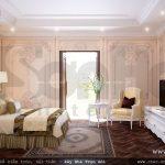 Nội thất phòng ngủ mang đậm nét châu Âu, mẫu phòng ngủ đẹp
