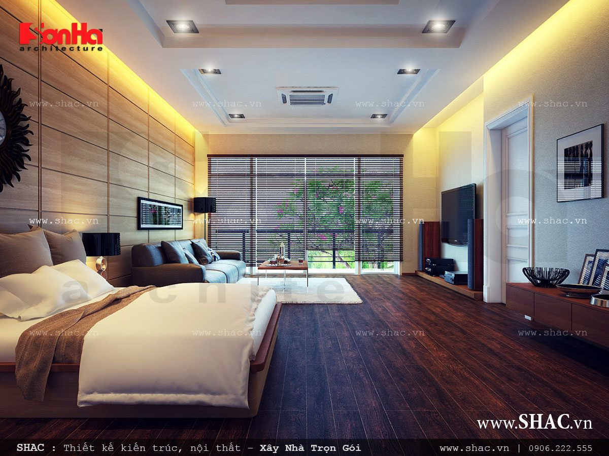Biệt thự hiện đại 3 tầng tại Nam Định - BTD 0015 8