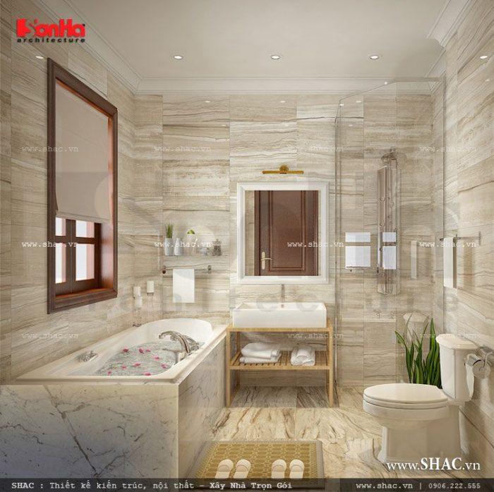 Phòng tắm tiện nghi