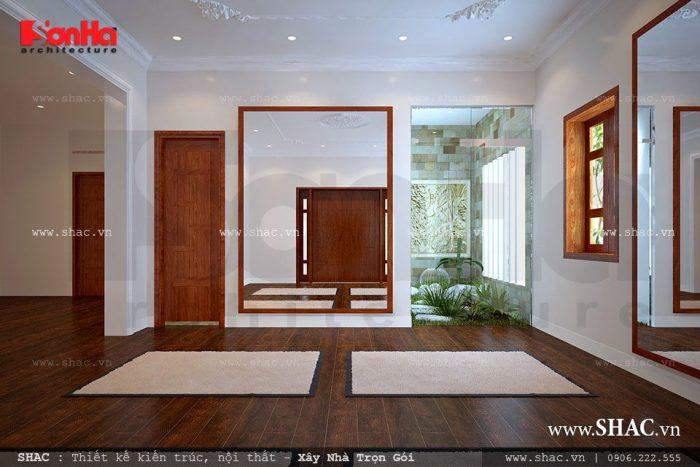 Thiết kế không gian phòng tập yoga tại nhà đơn giản và tiện dụng