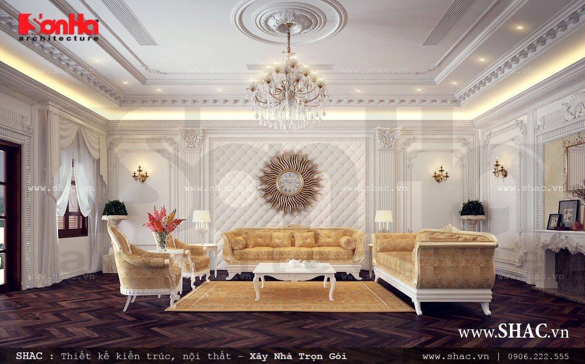 Biệt thự Pháp 4 tầng tại Hà Nam - BTP 0018 6
