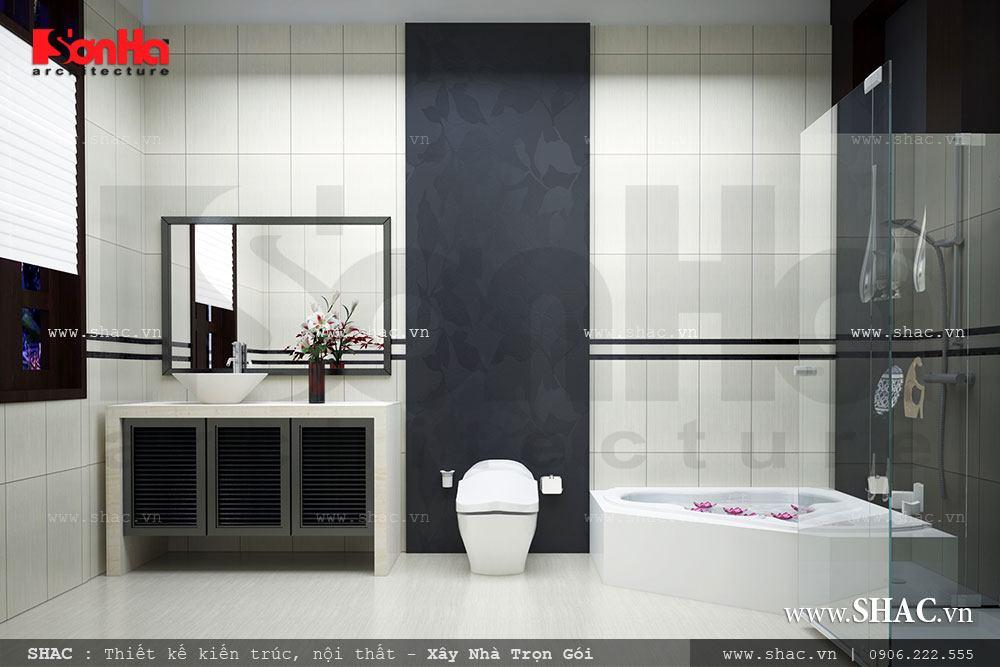 Biệt thự hiện đại 3 tầng tại Kiên Giang - BTD 0016 19