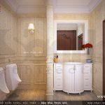Phòng WC sang trọng và tiện nghi