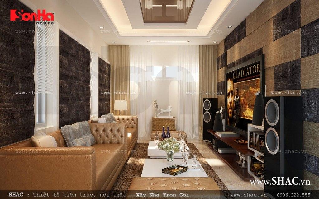 Thiết kế Phòng xem phim tại nhà