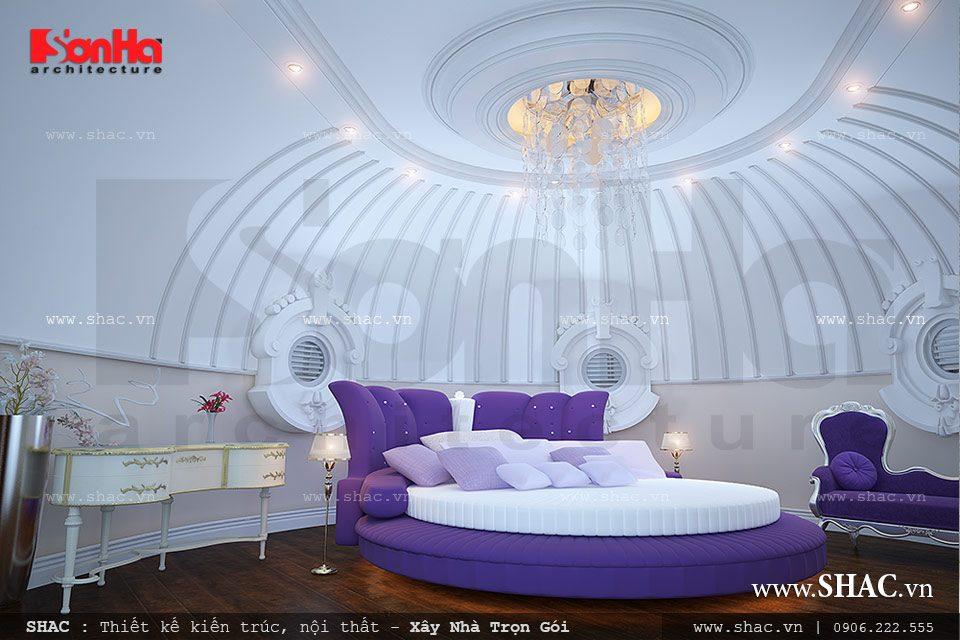Thiết kế nội thất phòng ngủ sáng tạo