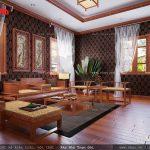 Nội thất phòng thờ đẹp bằng gỗ