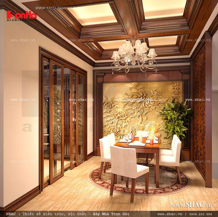 Thiết kế phòng ăn đẹp và ấm cúng