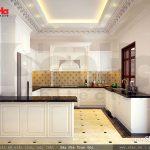 Thiết kế phòng bếp biệt thự