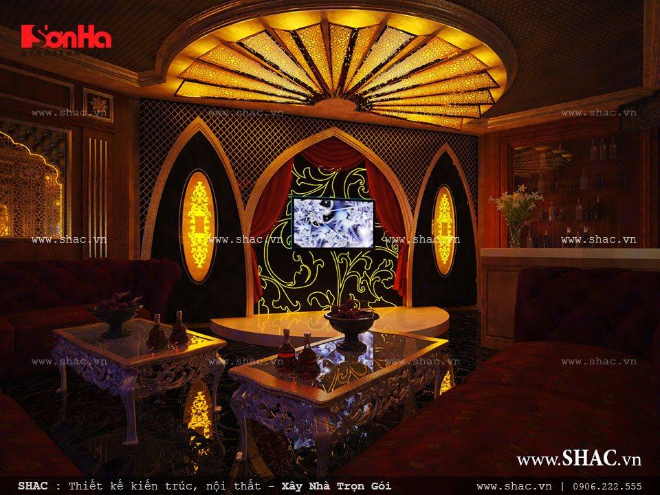 Thiết kế phòng hát karaoke tại nhà