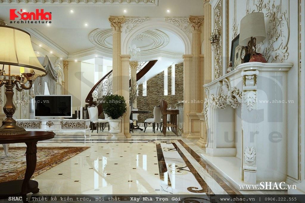 thiết kế phòng khách sang trọng, phòng khách cao cấp, phòng khách đẹp